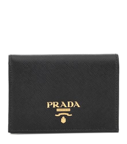 Portefeuille en cuir Saffiano - Prada - Modalova