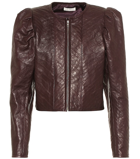 Kyra leather jacket