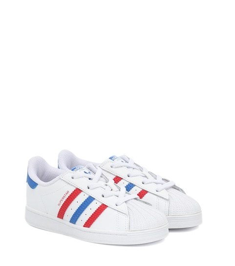 Superstar Leather Sneakers   adidas