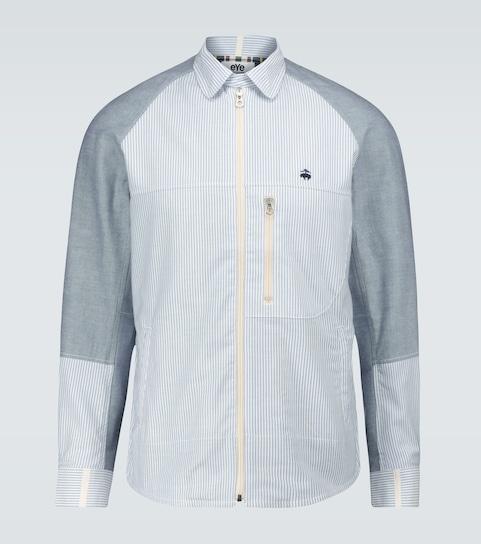x Brooks Brothers Camicia con zip