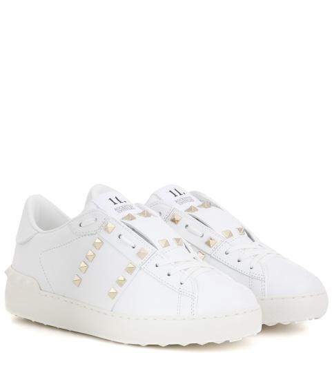 6ad64d5f447041 Valentino Garavani Sneakers Rockstud Untitled Aus Leder - Valentino ...