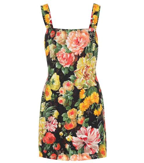 84b8036bac1b15 Floral-printed minidress