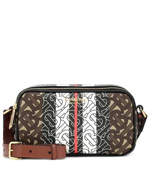 버버리 모노그램 스트라이프 벨트백 Burberry Monogram Stripe canvas belt bag