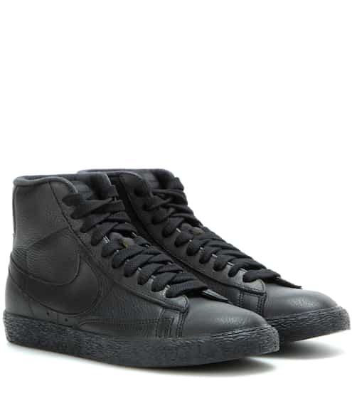 detailed look c46a9 41ab7 Nike Blazer Mid SE leather sneakers   Nike