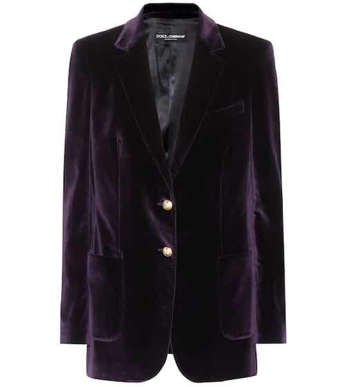 Dolce & Gabbana Blazer aus Samt