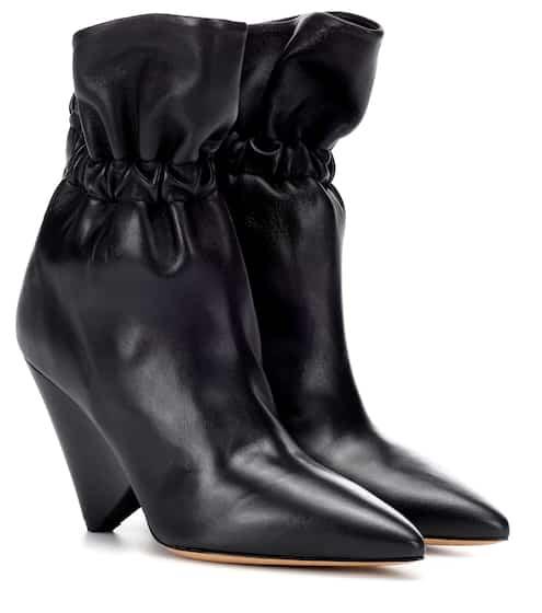 이자벨 마랑 Isabel Marant Lileas leather ankle boots