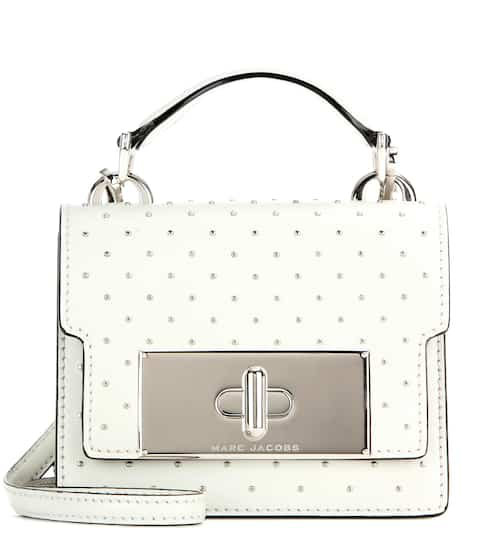 7bd6feb3dfdf Marc Jacobs Mini Mischief Embellished Leather Shoulder Bag from ...