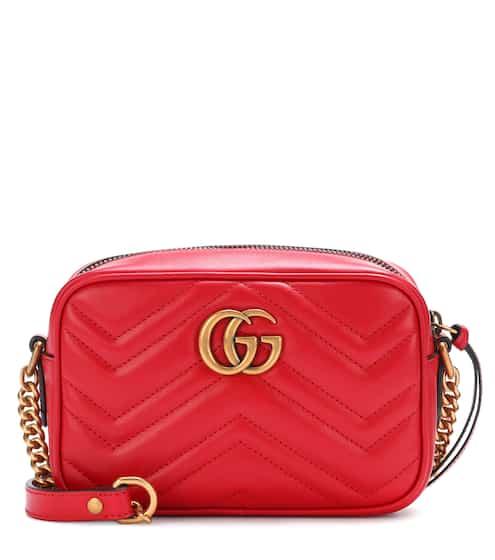 Gucci Trapuntata Metallic Leather Mini Crossbody Bag from Neiman ... c4c8d12649a11