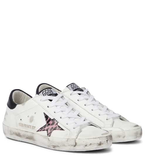 골든구스 Golden Goose  to Mytheresa – Superstar leather sneakers