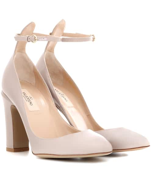 Valentino Garavani Tan-go patent leather pumps  47d453da0