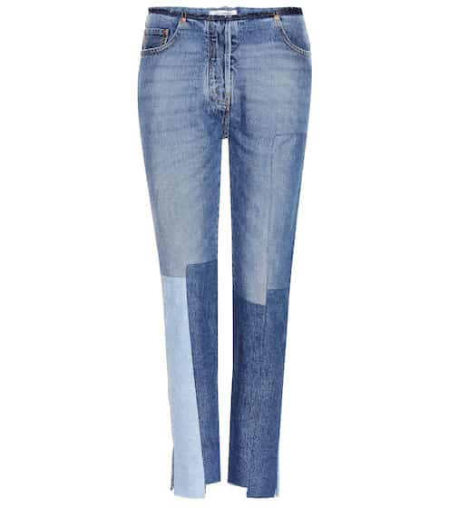 Valentino Jeans mit Patchwork