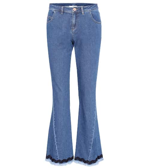 See By Chloé Cropped Jeans