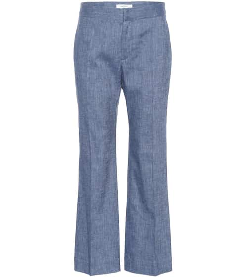 Oxy linen-blend flared pants | Isabel Marant, Étoile