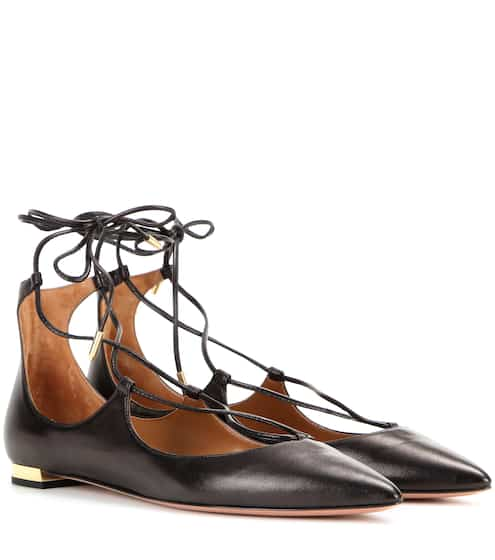 Ballerines en cuir Christy Flat | Aquazzura