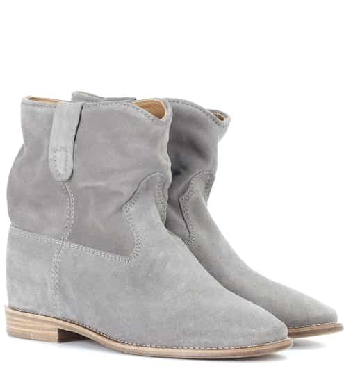 이자벨 마랑 Isabel Marant Exclusive to Mytheresa – Crisi suede ankle boots