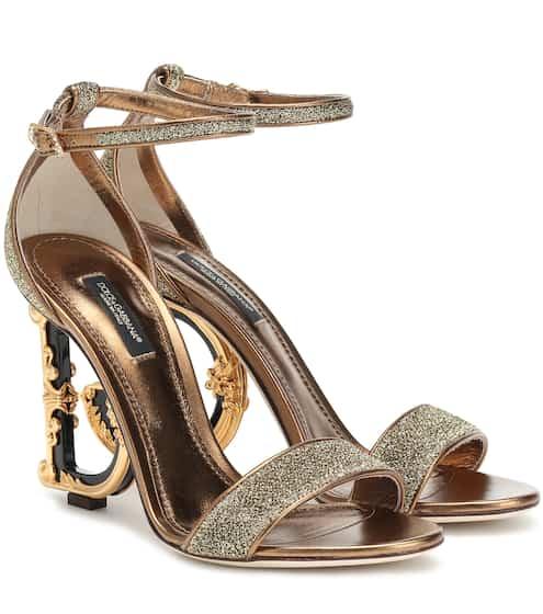 cf29e8203523 Keria embellished leather sandals