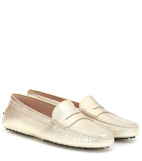 95c551acafb Gommino metallic leather loafers