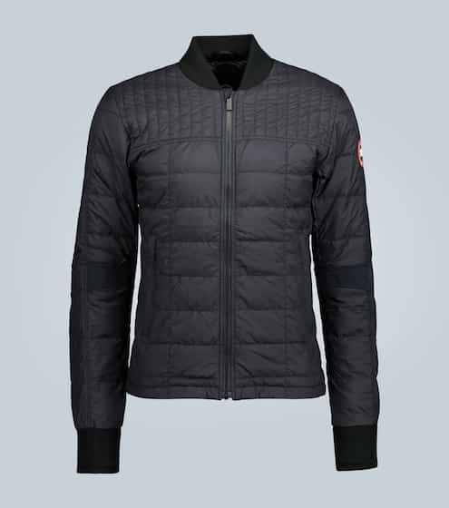 Jacket Mens Quilted Jacket Sartorial Black Smart Casual Winter from S to 4XL