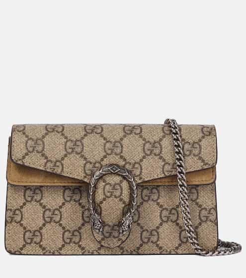 4838cee6175cbd Dionysus GG Supreme Super Mini shoulder bag | Gucci