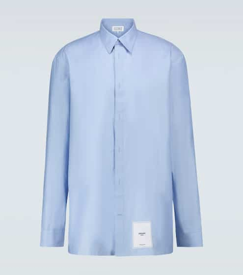 메종 마르지엘라 Maison Margiela Cotton long-sleeved shirt