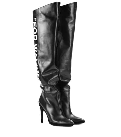 4b2bd478791 Designer Over-the-knee boots on SALE