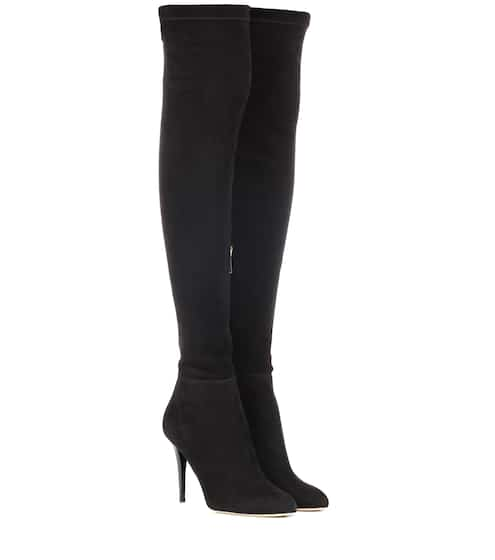 c43d93b3470 Jimmy Choo Toni Suede Over-The-Knee Boots from mytheresa - Styhunt