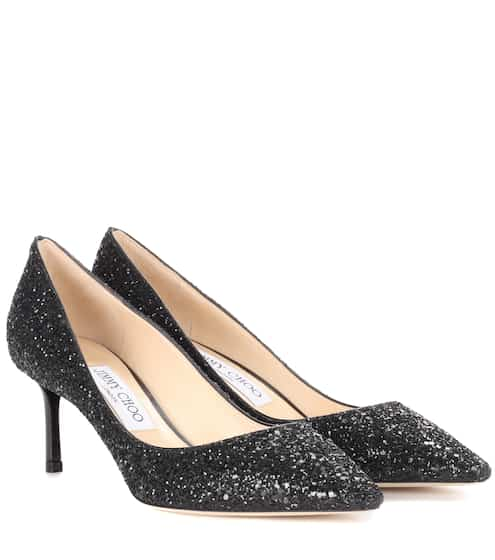 Jimmy Choo Pumps Romy 60 mit Glitter