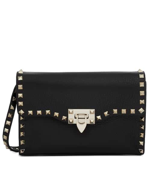 1b8e305378 Valentino Garavani Rockstud Small leather shoulder bag | Valentino