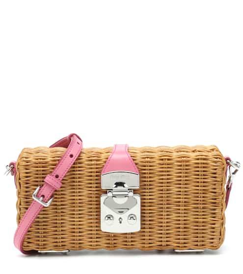 6ebb562a7d8f Raffia small basket bag