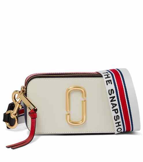 마크 제이콥스 스냅샷 카메라백 스몰 - 코코넛 Marc Jacobs Snapshot Small leather crossbody bag