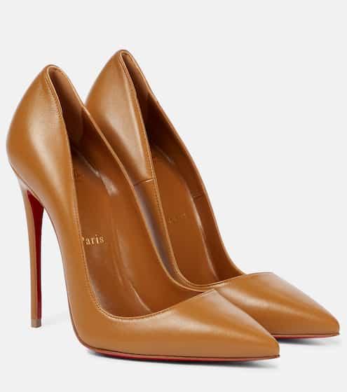 크리스찬 루부탱 펌프스 Christian Louboutin So Kate 120 leather pumps