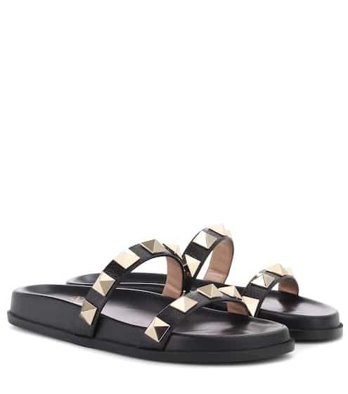 Valentino Valentino Garavani leather slides