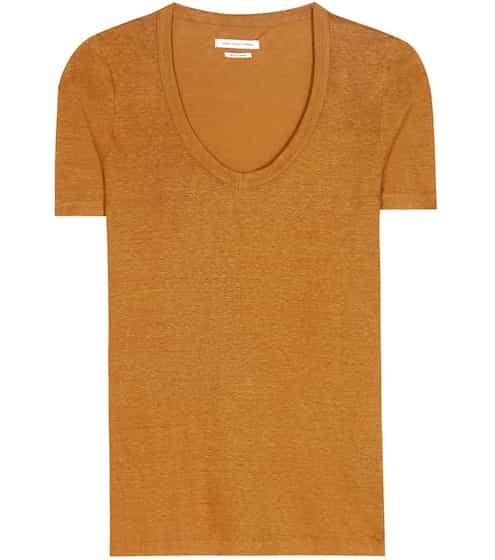 Isabel Marant, Étoile T-Shirt Kid aus Leinen