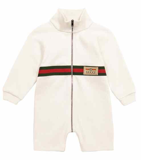 구찌 베이비 아기옷 우주복 Gucci Kids Baby cotton onesie