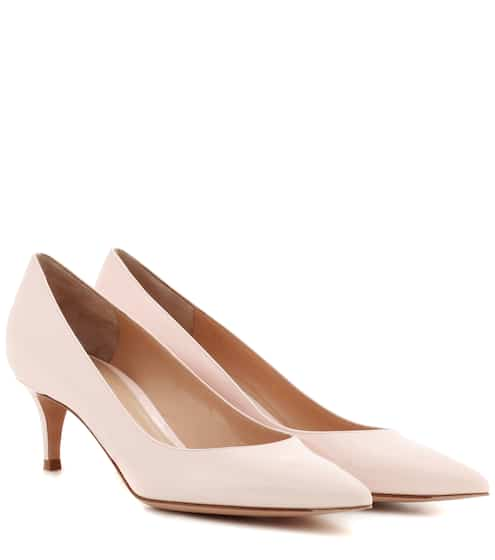 Gianvito Rossi Pumps aus Lackleder