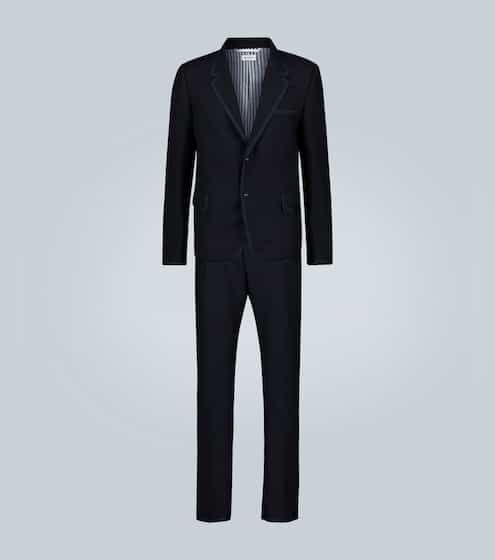 탐 브라운 Thom Browne – wool tuxedo with bow tie