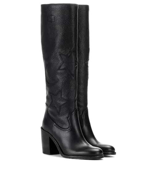 McQ Alexander McQueen Stiefel aus Leder