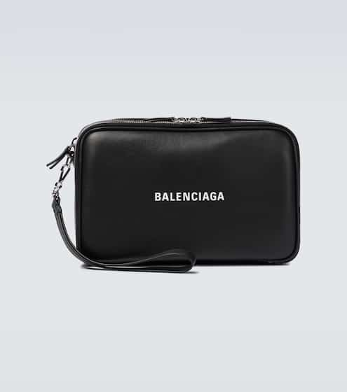 발렌시아가 Balenciaga Everyday leather pouch