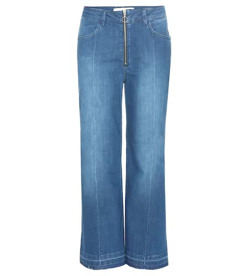By Malene Birger Cropped Jeans Lesatian