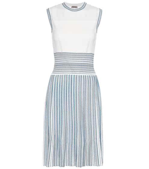 Bottega Veneta Knitted pleated dress