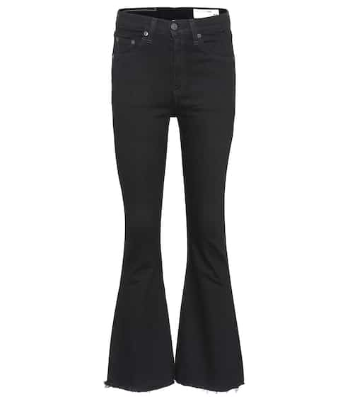 Rag & Bone Crop Flared Jeans