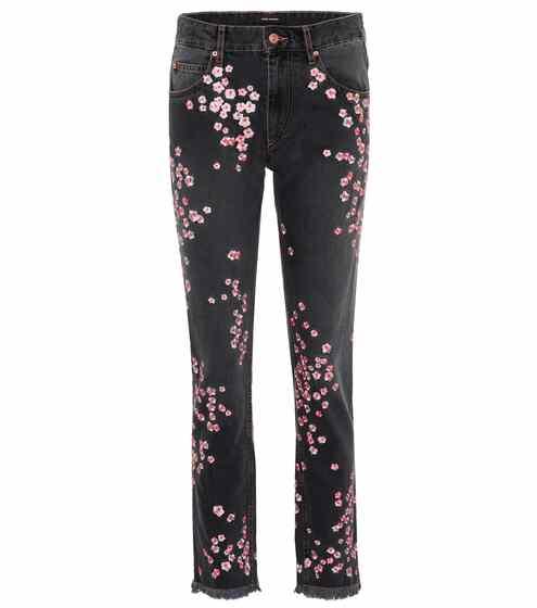 Isabel Marant Bestickte Jeans Holan