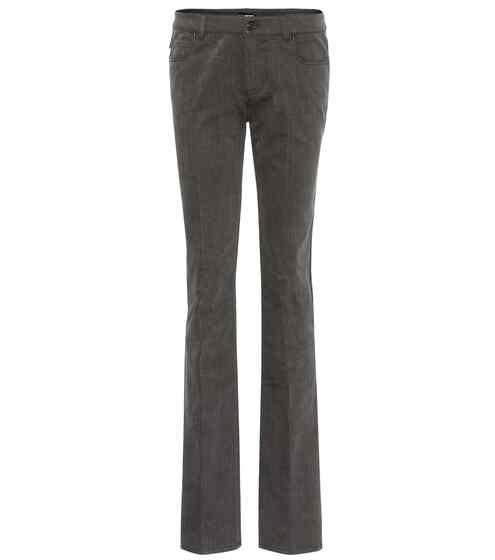 Tom Ford Flared Jeans mit Bügelfalten
