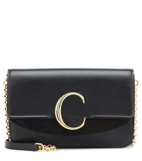 Chloé C Mini leather shoulder bag  732f681ff6