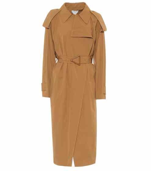 보테가 베네타 트렌치 코트 Bottega Veneta Cotton-blend trench coat