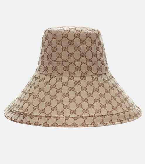 구찌 버킷햇 Gucci GG Supreme canvas hat