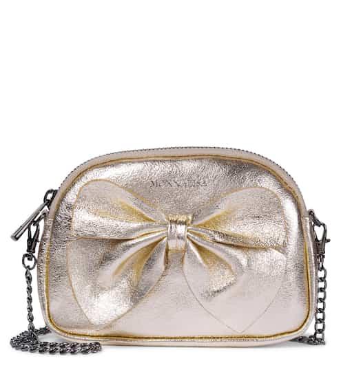 모나리자 키즈 리본백 Monnalisa Bow-embellished chain bag
