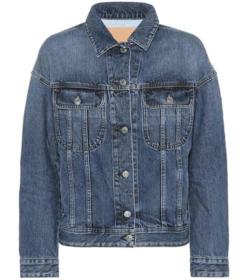 아크네 스튜디오 비아 콘스트 데님 자켓 중청 Acne Studios Blå Konst Lamp denim jacket