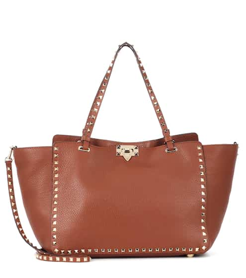 2a23c70219 Valentino Garavani Rockstud Medium leather tote | Valentino