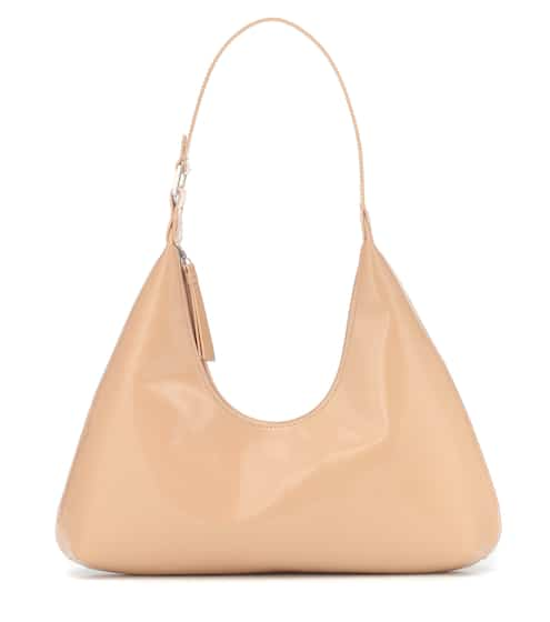 Amber patent leather shoulder bag by By Far, available on mytheresa.com for EUR611 Kendall Jenner Bags SIMILAR PRODUCT